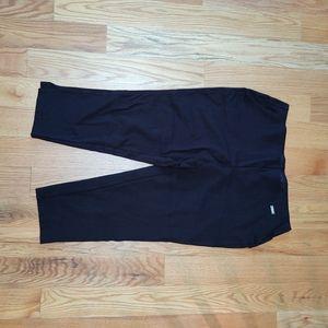 Rafaella ponte knit pant with wide elastic waist